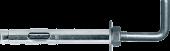 Анкер REDIBOLT 10x100 М8 + крюк
