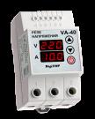 Реле напряжения с контролем тока VA-protector VА-40 DigiTOP