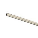 16 мм Труба 1,4 м хром матовий, металл