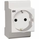 Розетка РАр10 -3 -ОП с заземляющим контактом на DIN - рейку ( SHUKO )