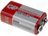 Аккумуляторная батарея GP 1604E - S1 Powercell 6F22 , крона , 9V , трей 10/500
