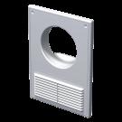 Решетка вентиляционная пластиковая МВ 125 Кс АБС