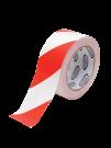 RW5033 Стрічка безпеки маркувальна 50мм х 33м біло-червона