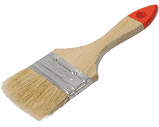 Кисть английская, деревянная ручка 50/14 (синт.кольор)