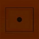 702-0303-129 DERIY Розетка ТВ проходная крем