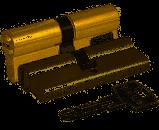 KALE Цилиндровый механизм 164 BNE / 81 (26 + 10 + 45) mm никель 5 кл.