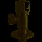 Кран угловой керамик NV-Q888 1/2 x 1/2 PROFESSIONAL нержавейка