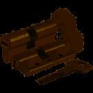 KALE Цилиндр 164SNC 40 + 10 + 40 = 90mm, сатин, 5 ключей 6205
