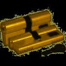 KALE Цилиндровый механизм 164 BNE / 90 (40 + 10 + 40) mm латунь 5 кл.