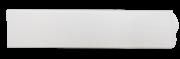 Багет 50 мм (2.5 м) белый, пластик