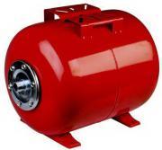 Бачок 50 литров ( горизонтальный, красный)
