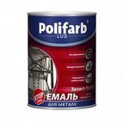 Защита ПОЛИФАРБ 3 в 1 пепельный 0,8 кг