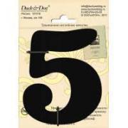 """Номерок для дверей """"5"""""""