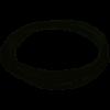 Трос оцинк. 2,0 в поліет. обплетенні 3,0 мм DIN 3055 6*7 (100) - 1м