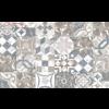 Керамическая плитка Margo Inserto Patchwork 25x40