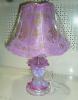 8501 Настольная лампа акрил + стекло Е27х60W
