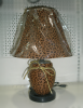 2020 Настольная лампа кожа Е27х60W