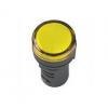 Лампа AD22DS ( LED) матрица d22мм желтый 230В ИЭК