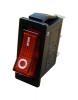 Переключатель 1 клавишный с подсв. YL202 -01 АСКО