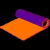 Коврик EVA-FIT фиолетово-оранжевый