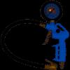 Пистолет для подкачки шин  пневматический SIGMA